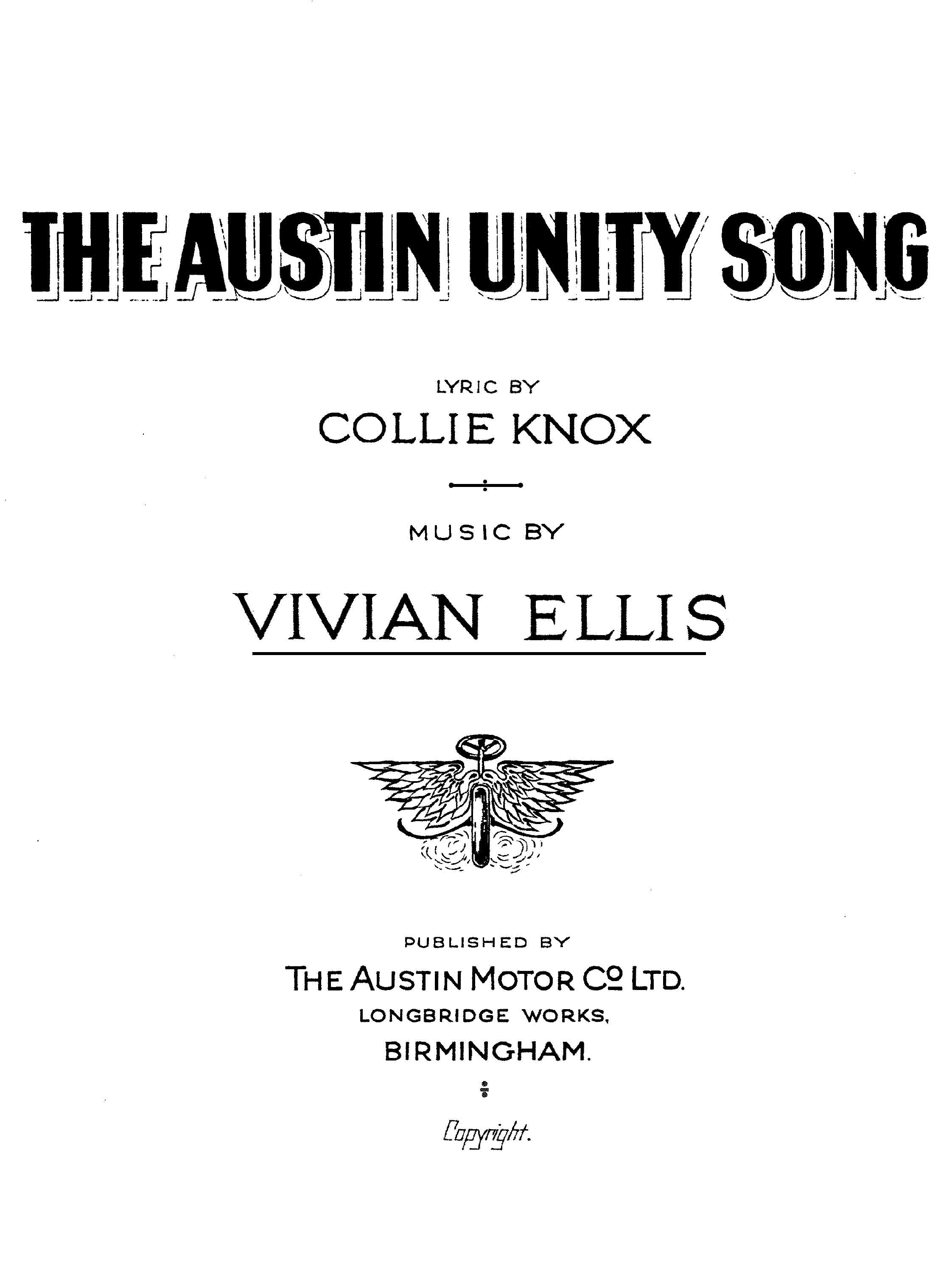 The Austin Unity Song